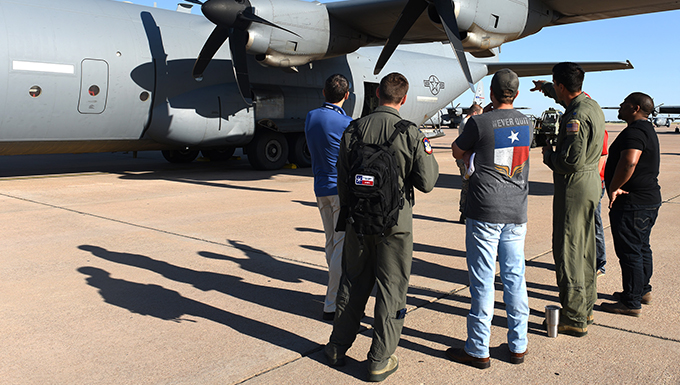 Dyess Air Force Base, Abilene Regional Airport: Partners in Safety