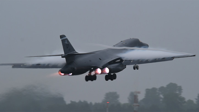 B-1B Lancers support BALTOPS exercise