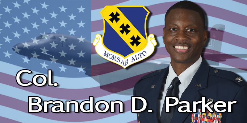 Col. Brandon D. Parker 7th Bomb Wing Commander